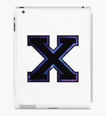 """X"" Varsity Letter iPad Case/Skin"