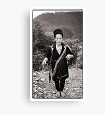 Vietnam - Sapa ... Village lady #01 Canvas Print
