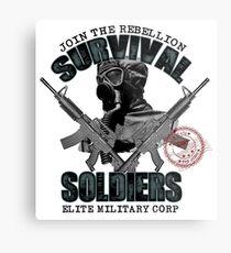 Survival Soldiers Metal Print