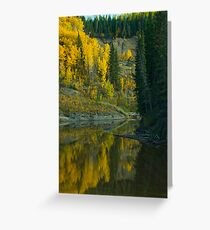 The Beatton River #2 Greeting Card