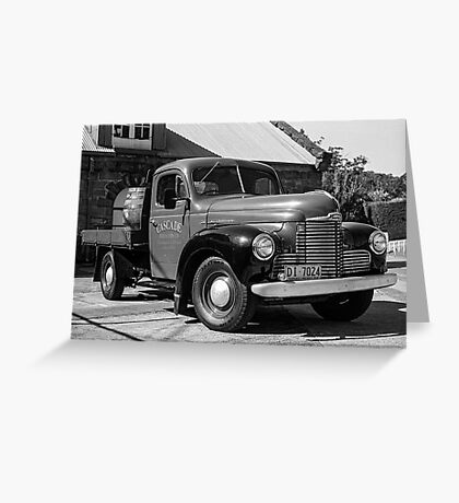 Brewery Truck Greeting Card