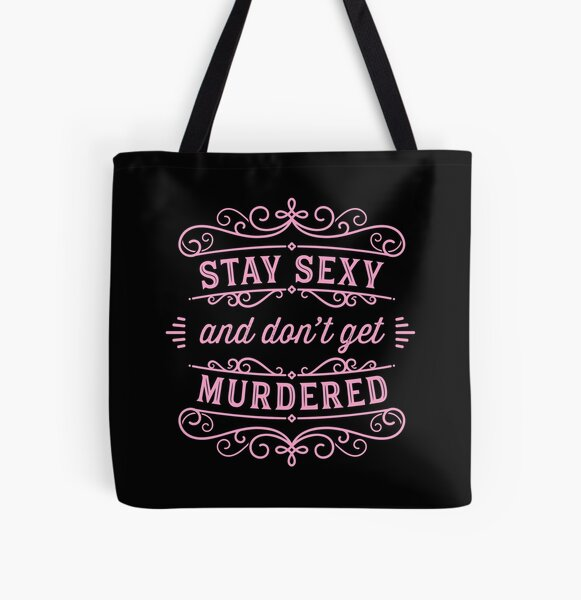 SSDGM - Pink All Over Print Tote Bag