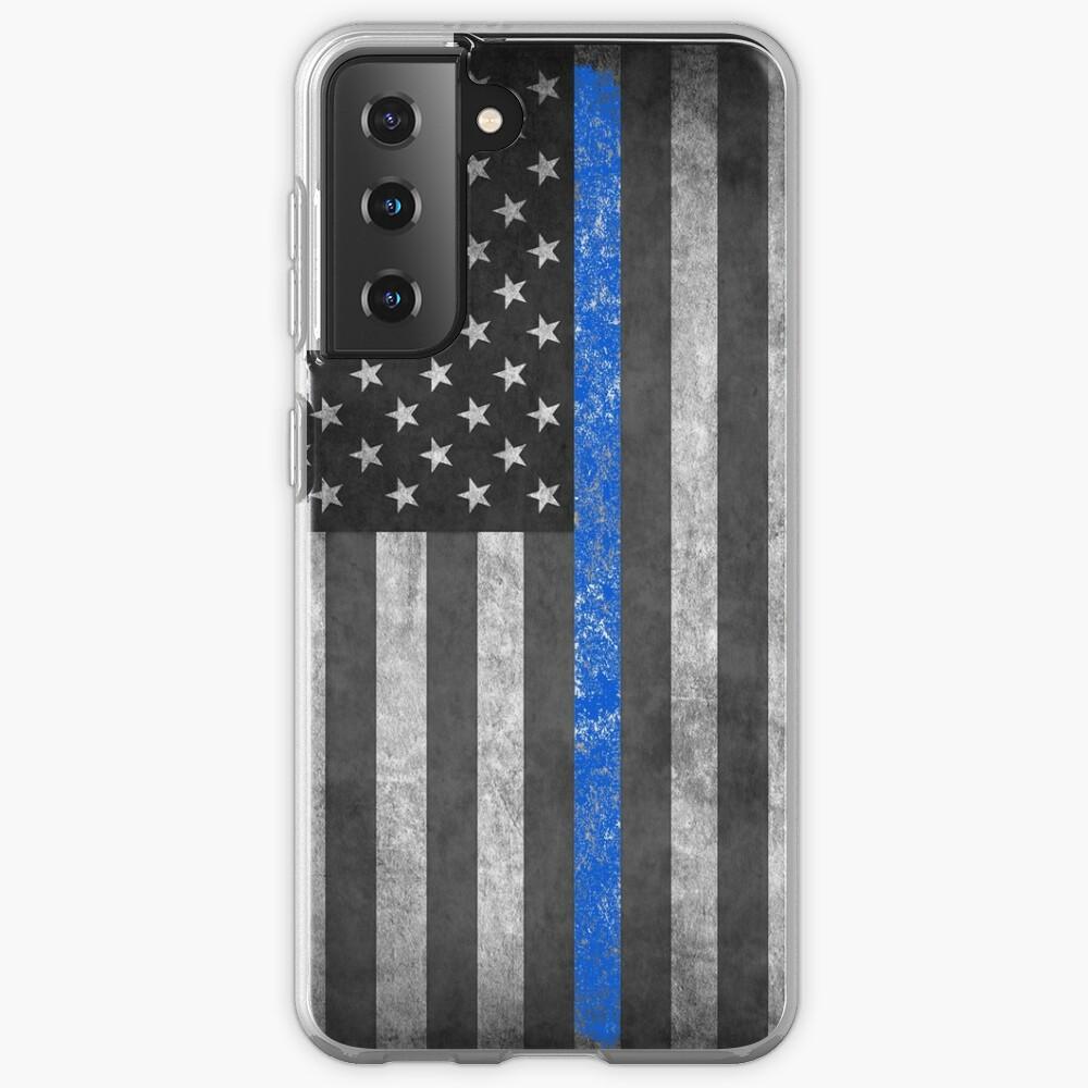 Thin Blue Line  Samsung Galaxy Phone Case