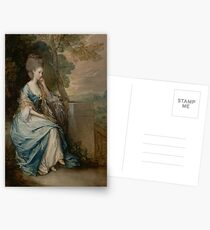 Portrait of Anne, Countess of Chesterfield by Thomas Gainsborough Postcards