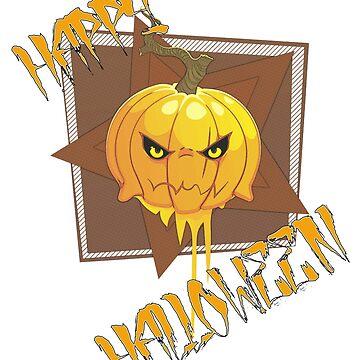 Happy Halloween Pumpkin by Basement Mastermind by BasementMaster
