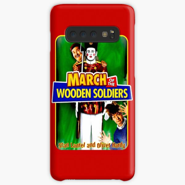 LAUREL and HARDY : March of the Wooden Soldiers Print Samsung Galaxy Snap Case