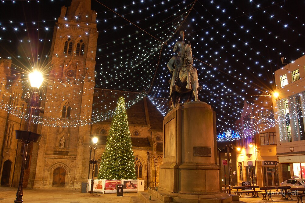 Durham at Christmas by Mandy Fell