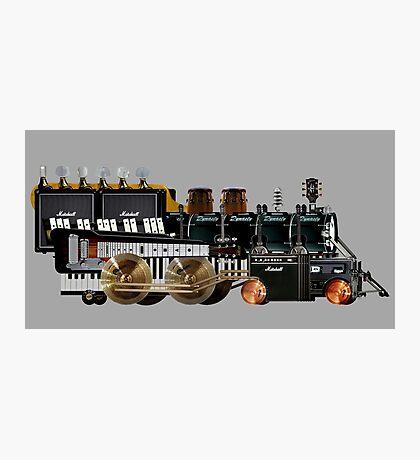 instrument train 2 Photographic Print