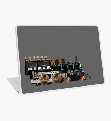 instrument train 2 Laptop Skin