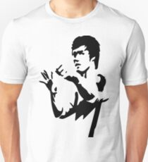 bruce lee Black and white  T-Shirt