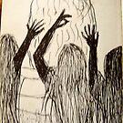 the wierd sisters by MardiGCalero