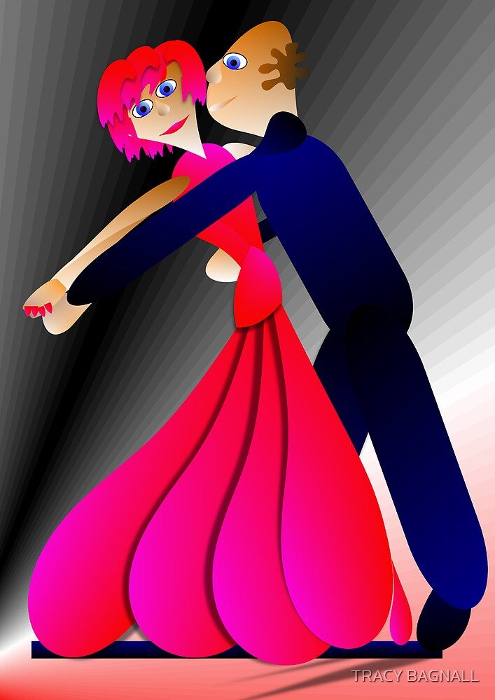 love dancing by TRACY BAGNALL