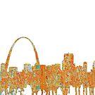 Gateway Arch, St. Louis Skyline von Marlene Watson