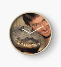 Steve Irwin and Croc Clock