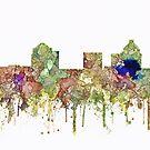 Greensboro, NC Skyline SG - Verblaßter Ruhm von Marlene Watson