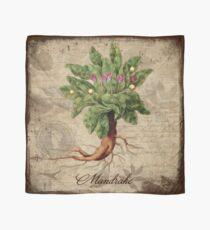 Mandrake Plant Vintage Botanicals Garden collection Scarf