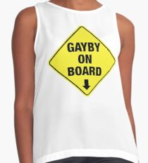 GAYBY ON BOARD clothing Sleeveless Top