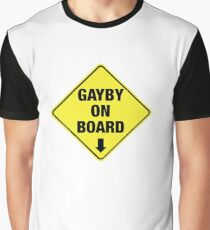 GAYBY ON BOARD clothing Graphic T-Shirt