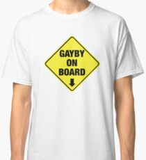 GAYBY ON BOARD clothing Classic T-Shirt