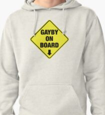 GAYBY ON BOARD clothing Pullover Hoodie