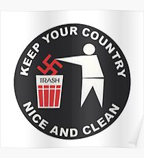 Keep Your Country Clean - Anti-Nazi Poster