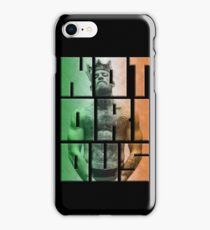 Notorious Conor McGregor King image inside Notorious word iPhone Case/Skin