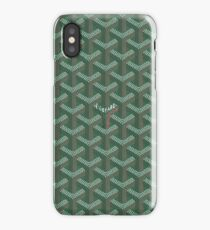 green graph iPhone Case/Skin