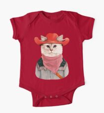Rodeo Cat One Piece - Short Sleeve