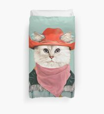 Rodeo Cat Duvet Cover
