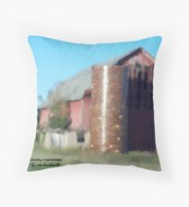 Country Impressions  Throw Pillow