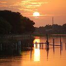 Florida orange sunrise by paintin4him