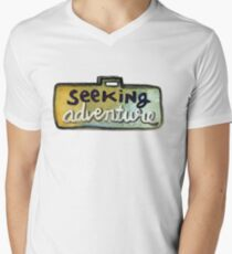 Seeking Adventure Men's V-Neck T-Shirt