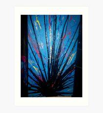 bitumen spray Art Print