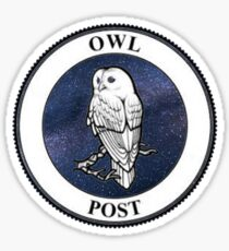 Owl Post Sticker