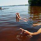 Back float by Christopher Barker