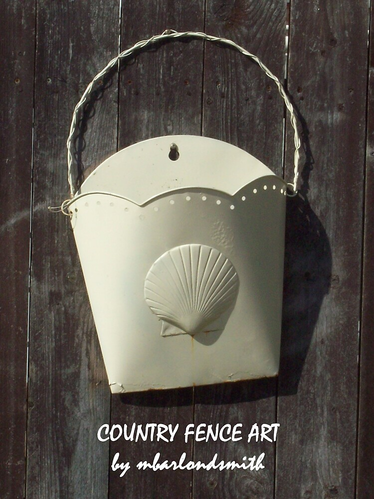 Country Fence Art by Michelle BarlondSmith