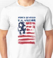 Abstract Stars Stripes Patriotic American Flag T-Shirt