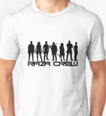 Dunkle Materie - Raza Crew Silhouetten Slim Fit T-Shirt