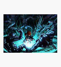Mass Effect - Biotic Blitz Photographic Print