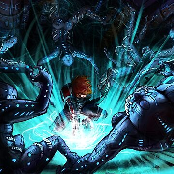 Mass Effect - Biotic Blitz by hedrick