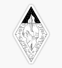 Iceberg In the Night Sticker