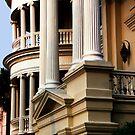 Porcher-Simonds House, Porticos by Benjamin Padgett