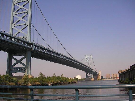 Ben Franklin Bridge by CatherineE