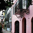 Rainbow Row No. 4, Charleston, SC by Benjamin Padgett