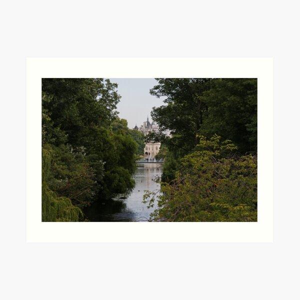 St James Park Art Print