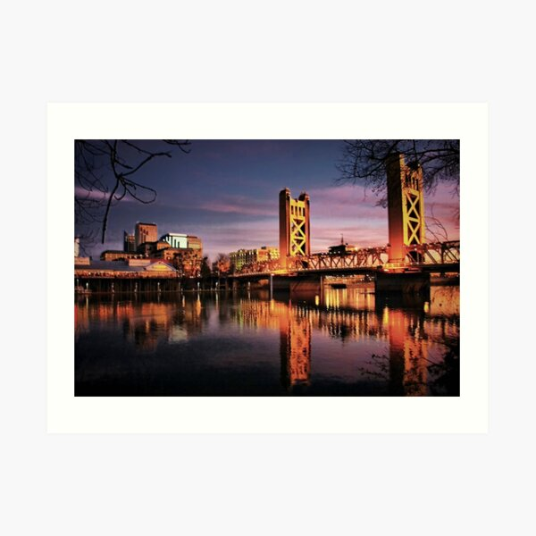 Sacramento Reflections Art Print