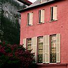 Pink House on Rainbow Row by Benjamin Padgett