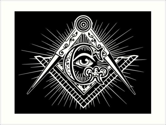 Freemasonry Art Prints By Boxsmash