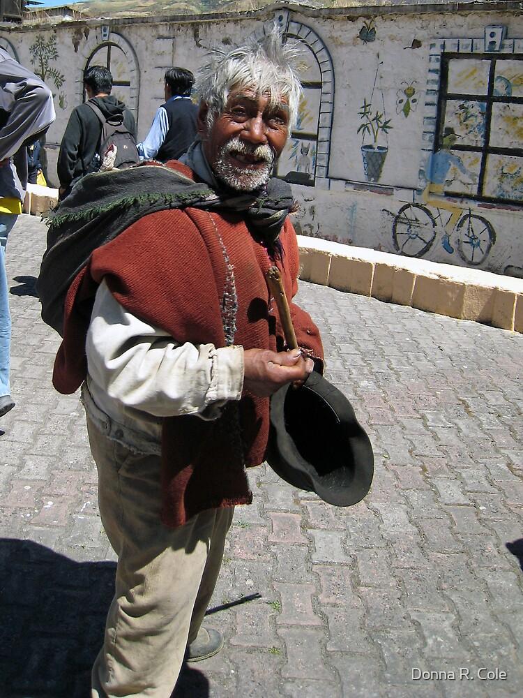 Old Man in Alausí by alwaysdrc