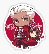 Fate/Stay Night - Archer and Rin Sticker